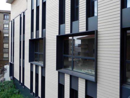 favenorte-fachadas ventiladas Centro Social Kueto Sestao